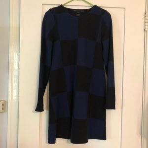 Marc by Marc Jacobs Checkered Long Sleeve Dress